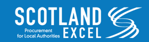 Scotland Excel Logo, procurement for local authorities